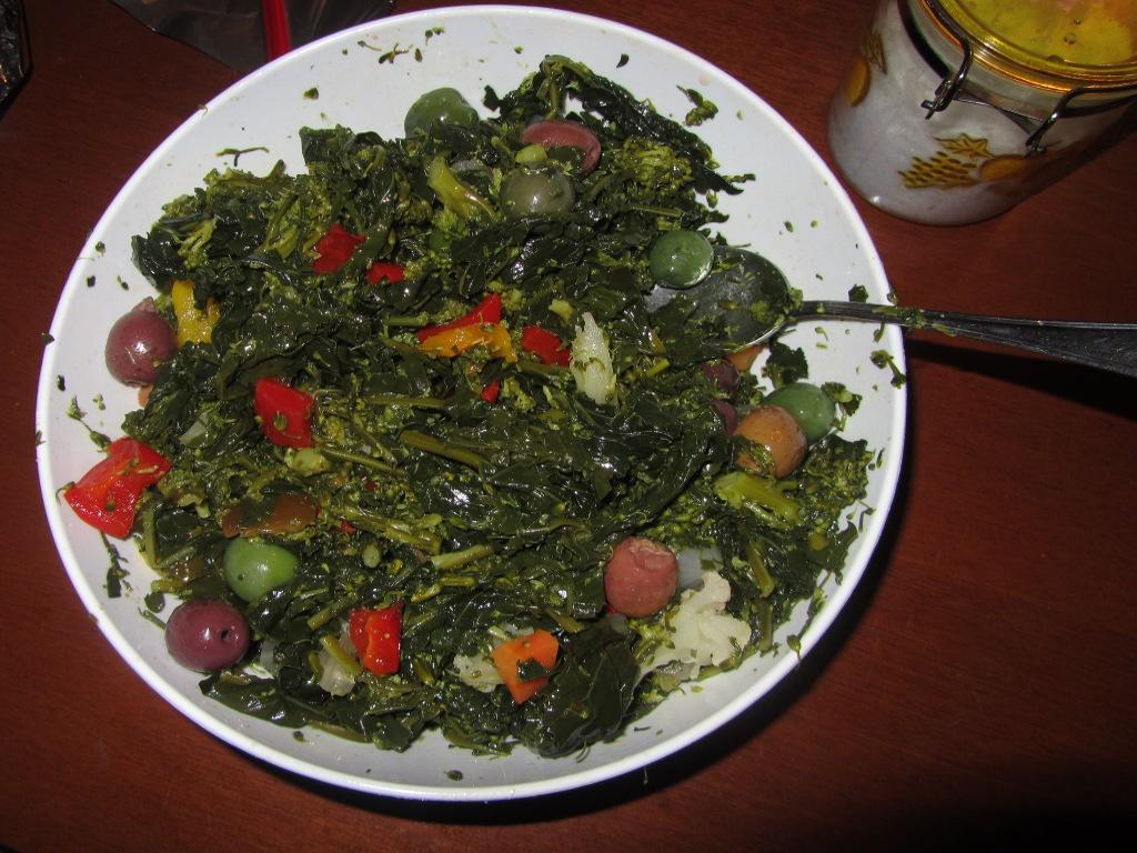 Broccoli di Natale all'insalata