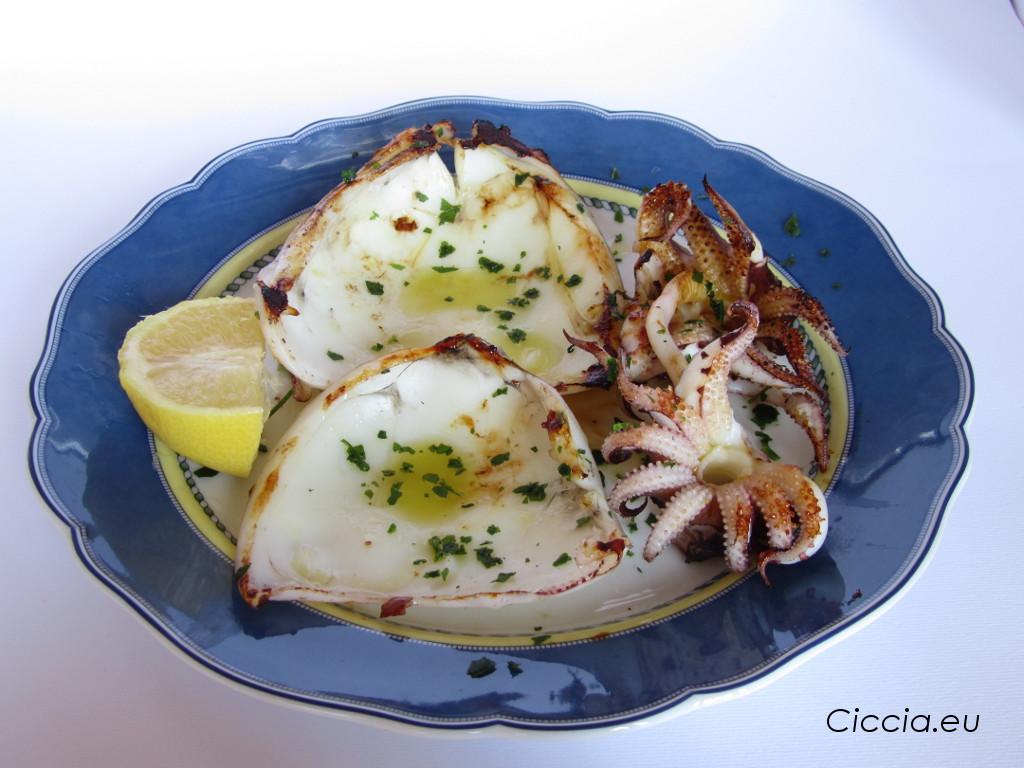Seppie Arrostite Ricette Di Cucina Secondo Piatto Pesce