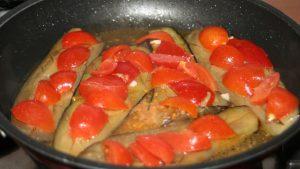melanzane in cottura