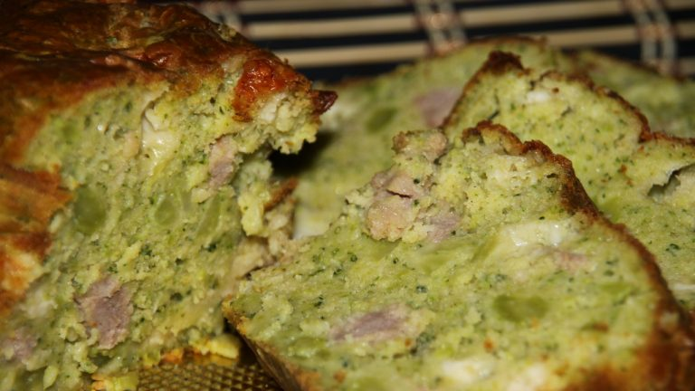 plumcake salato ai broccoli