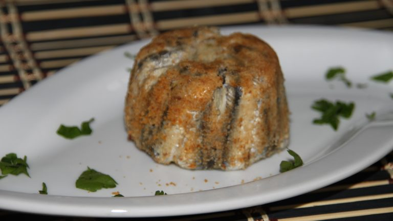 tortino di alici e patate