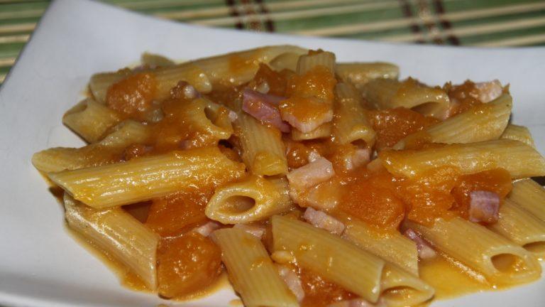pasta zucca e pancetta